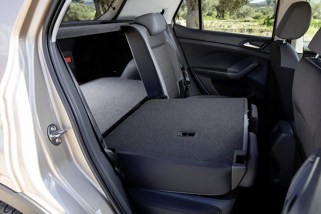 VW T-Cross - porta-malas - espaço traseiro