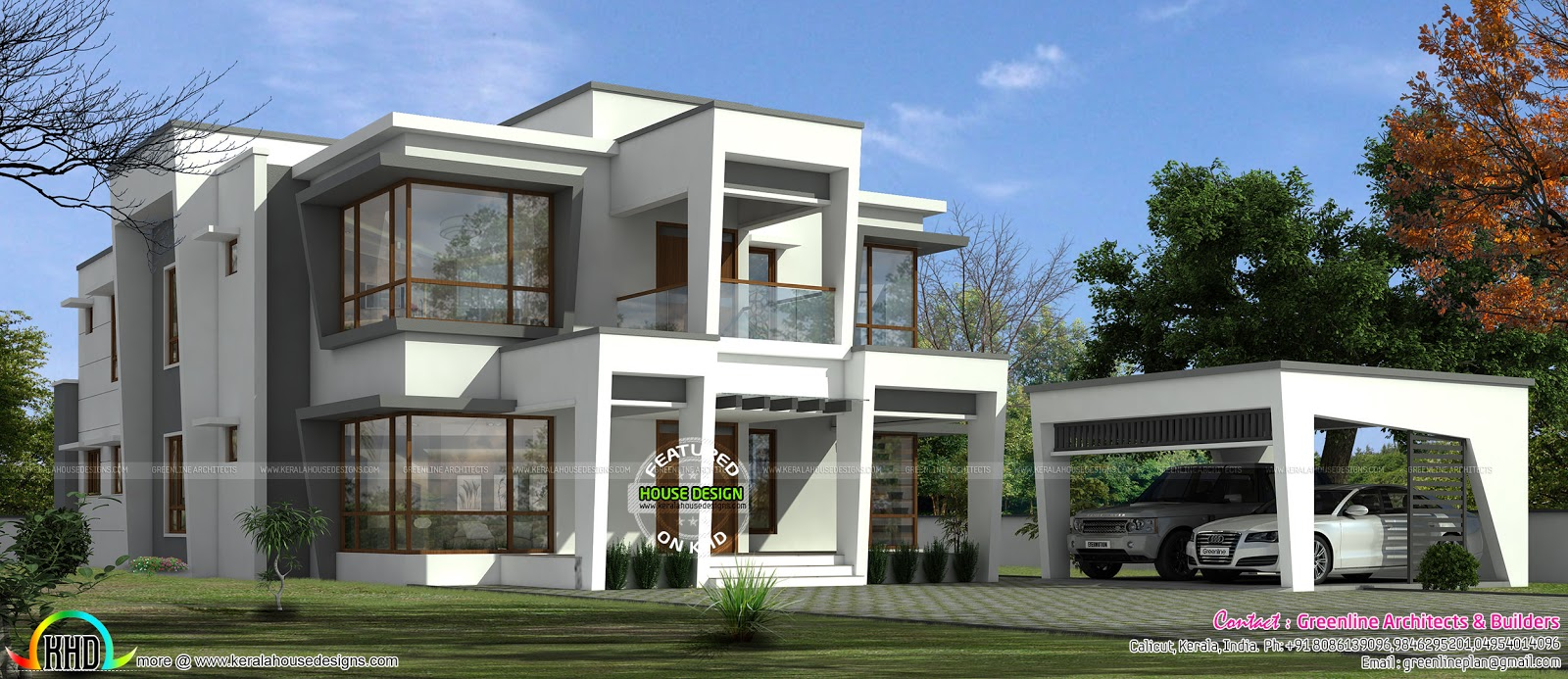 Most Modern House In 2017 Kerala Home Design And Floor Plans