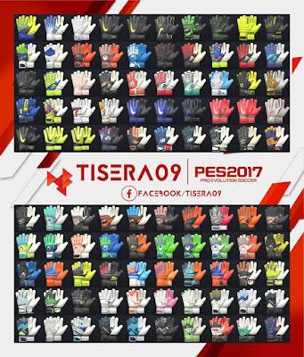 PES 2017 GlovePack v9 by Tisera09
