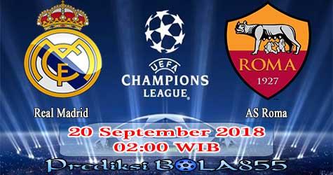 Prediksi Bola855 Real Madrid vs AS Roma 20 September 2018