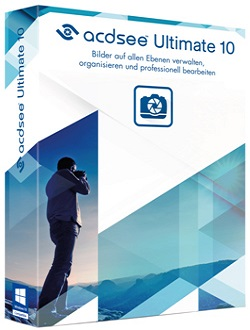 ACDSee Ultimate 10.3 Build 894 poster box cover