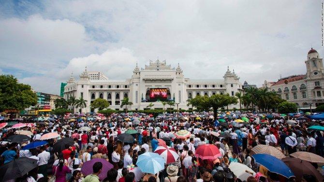 Pada Etnis Rohingya, Ternyata Begini Pandangan Masyarakat Budha di Myanmar