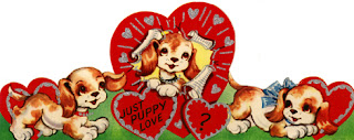 Clipart image of a vintage Be Mine Valentine message