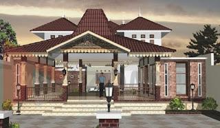 Gambar Desain Rumah Joglo Modern 2