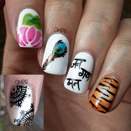 10 indian independence day nail art ideas bling sparkle 10 indian independence day nail art ideas prinsesfo Image collections