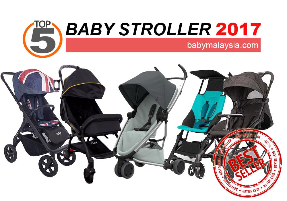 Top 5 Baby Stroller Terbaik 2017 Pilihan BabyMalaysia.com