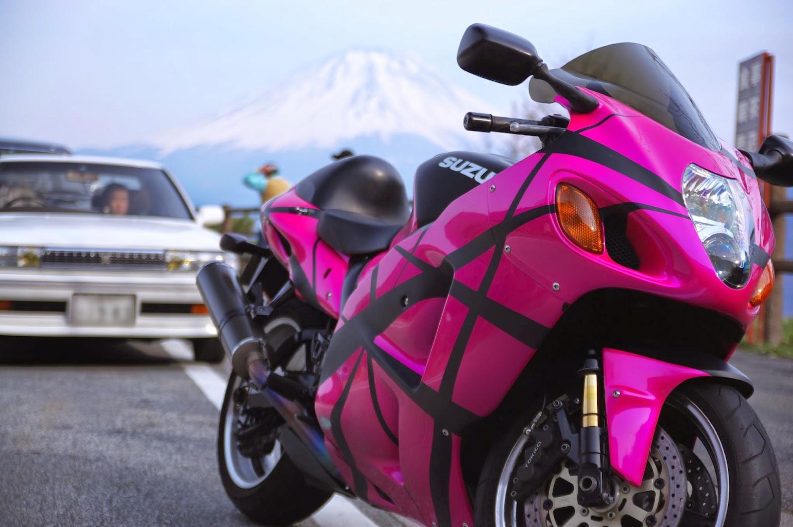 The Suzuki Hayabusa or GSX1300R