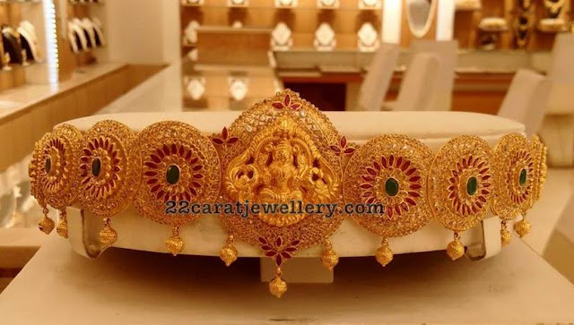 Antique Work Lakshmi Waistbelts