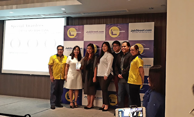 In the BPO category, winners are Convergys Philippines, IBM Business Services, and  JPMorgan Chase Bank.