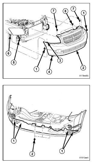 car repair diagrams dodge caliber front bumper diagram, dodge, free engine ... dodge repair diagrams