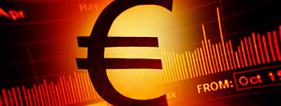 The Euro is falling to its lowest level in a month and a half