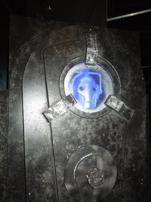 Doctor Who Closing Time Cyberman prop