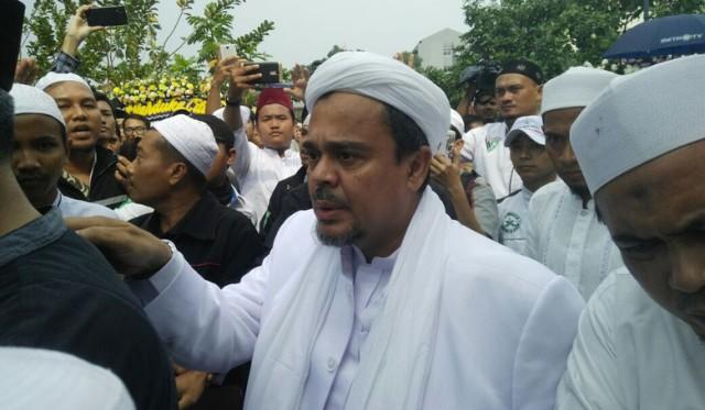 Habib Rizieq Minta Yusril Bikin Rekonsiliasi GNPF MUI dan Pemerintah