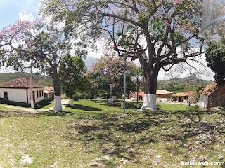 Belo jardim em São Gonçalo do Rio das Pedras/MG.