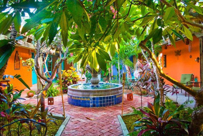 DECORA INTERI: Jardins Mexicanos: Paisagismo cheio de cores on Mexican Patio Ideas id=34169