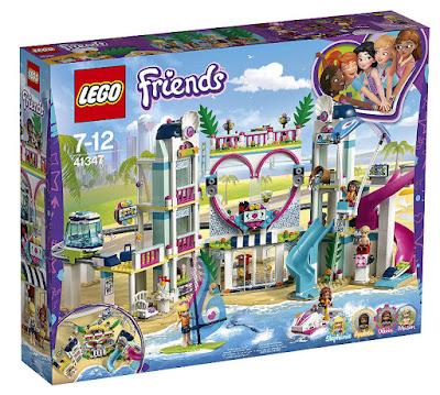 Toys : juguetes - LEGO Friends 41347 Resort de Heartlake City COMPRAR ESTE JUGUETE