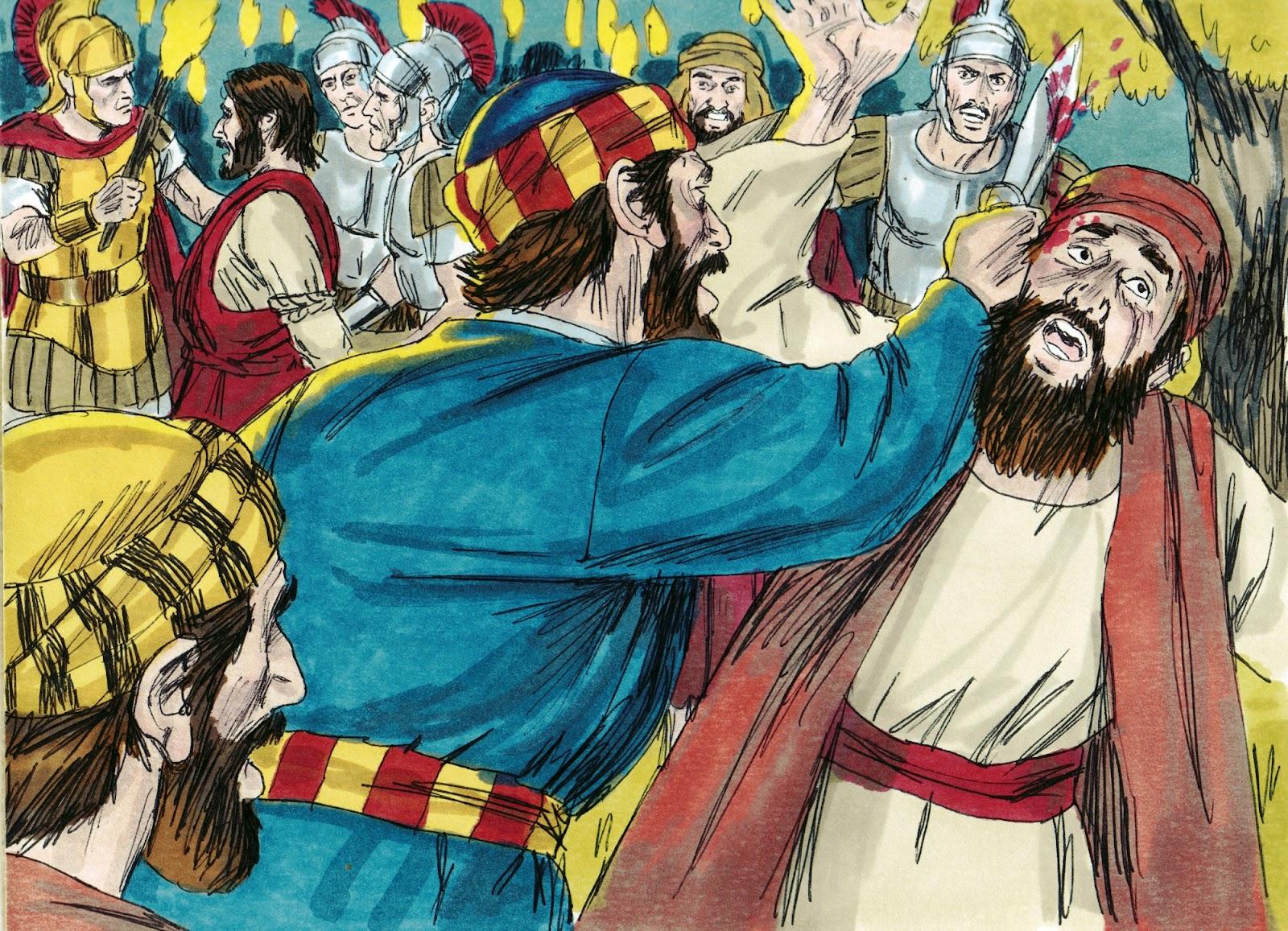 bible fun  kids jesus   garden   betrayal