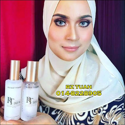 Rosetyara Bling Bling Spray & Bakali Beautifying Water