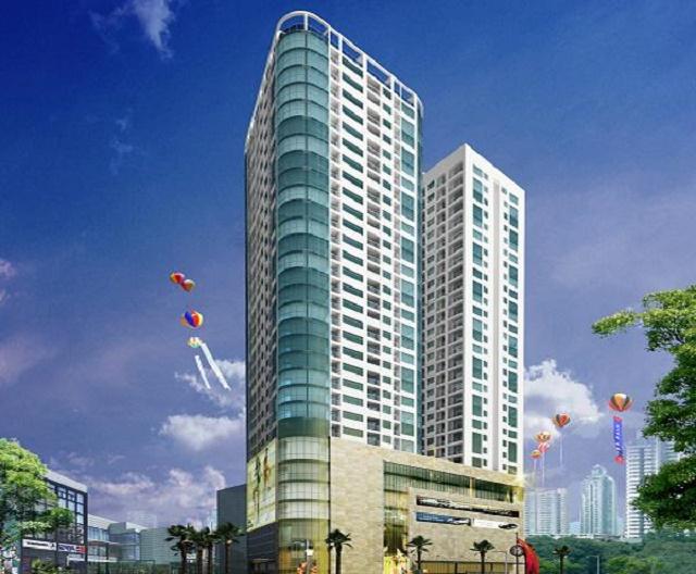 Phối cảnh dự án chung cư Quang Minh Tower Lê Văn Thiêm