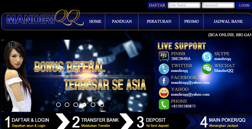 Mandiriqq Situs Poker Online Berkualitas