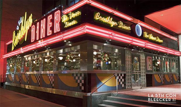 restaurantes diners en Nueva York brooklyn diner