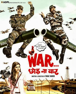 Poster Of Bollywood Movie War Chod Na Yaar (2013) 300MB Compressed Small Size Pc Movie Free Download worldfree4u.com