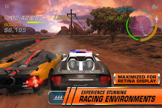 Need for Speed: Hot Pursuit iPhone game available for download on App Store