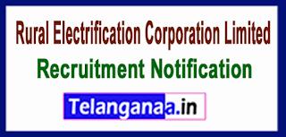REC Rural Electrification Corporation Limited Recruitment  Notification 2017 Last Date 15-06-2017