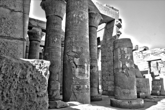 The Temple of Edfu is an Ancient Egyptian