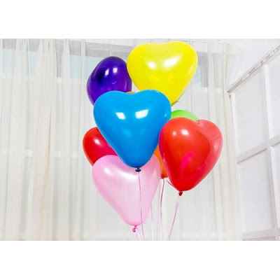 Balon Hati . Balon Love