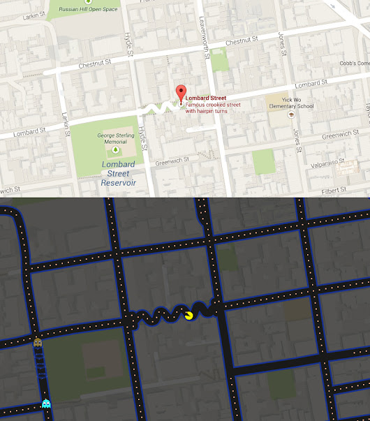 Come giocare a Pac-Man su Google Map