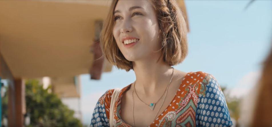 Modella Algida pubblicità Cornetto Love Story con Foto - Maggio 2017