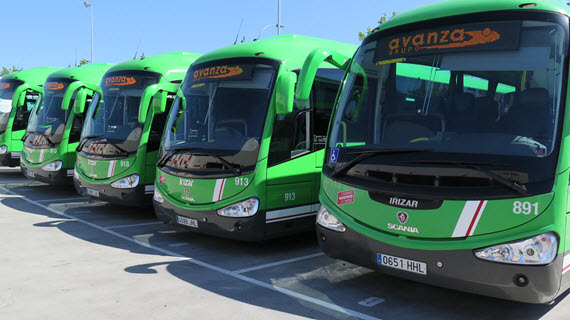 Más autobuses interurbanos para las líneas 611, 611A, 612, 613, 661, 664, 682, 682A