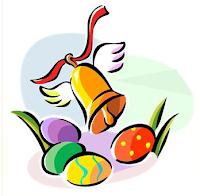 cloches et oeufs de Pâques