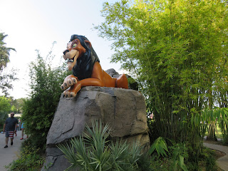 Scar Statue Lion King Art of Animation