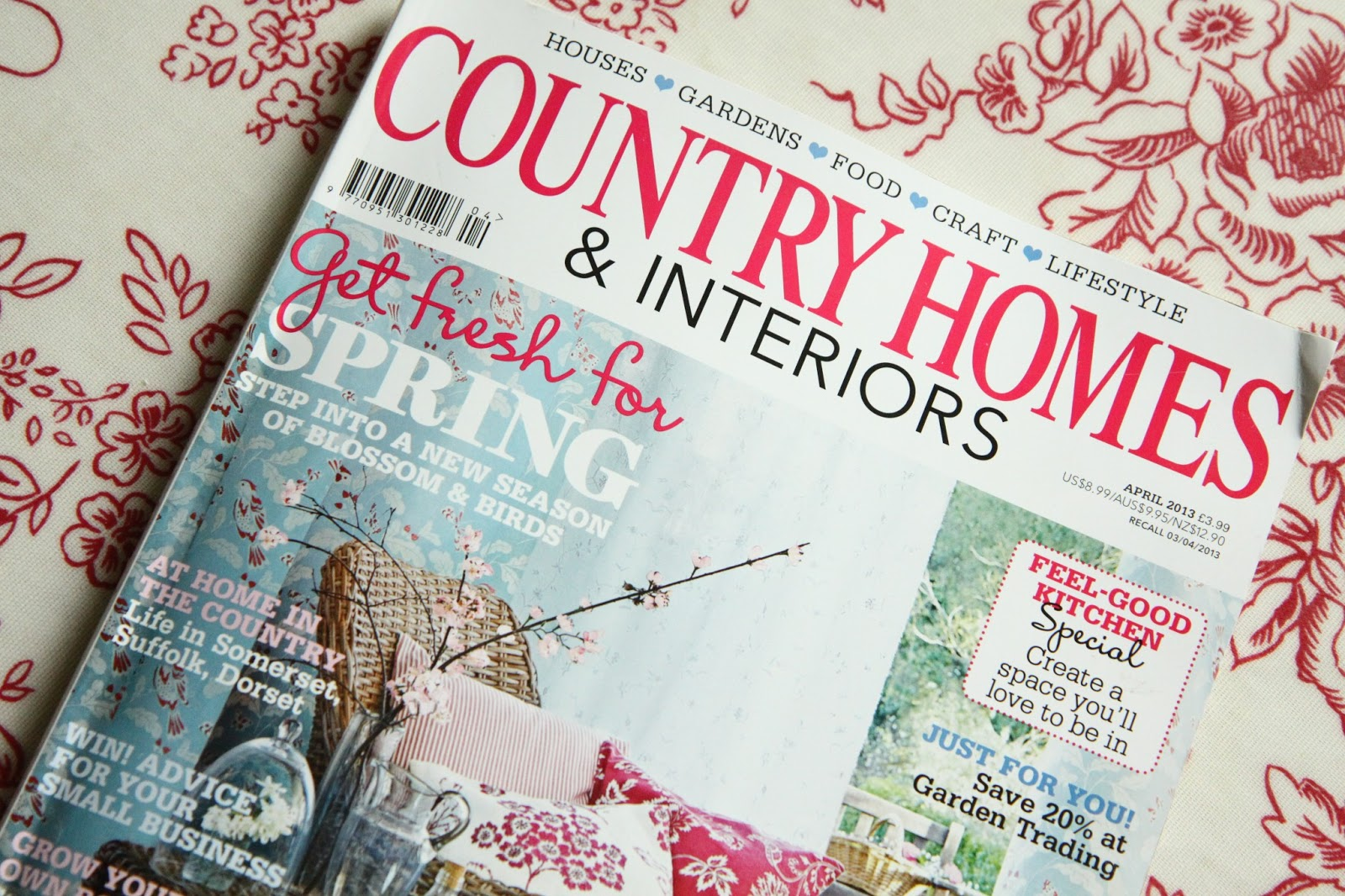 Modern Country Style Magazine Round Up April