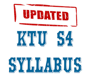 ktu s4 btech syllabus updated