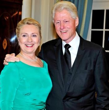 Foto de Hillary Clinton con el amor de su vida
