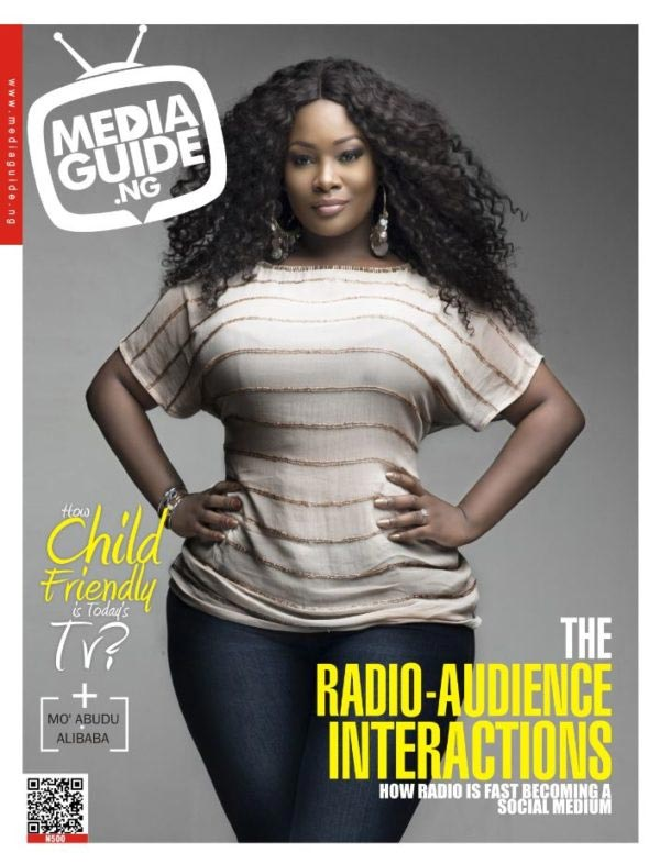 Toolz puts curves on display as she covers front page of Media Guide Magazine