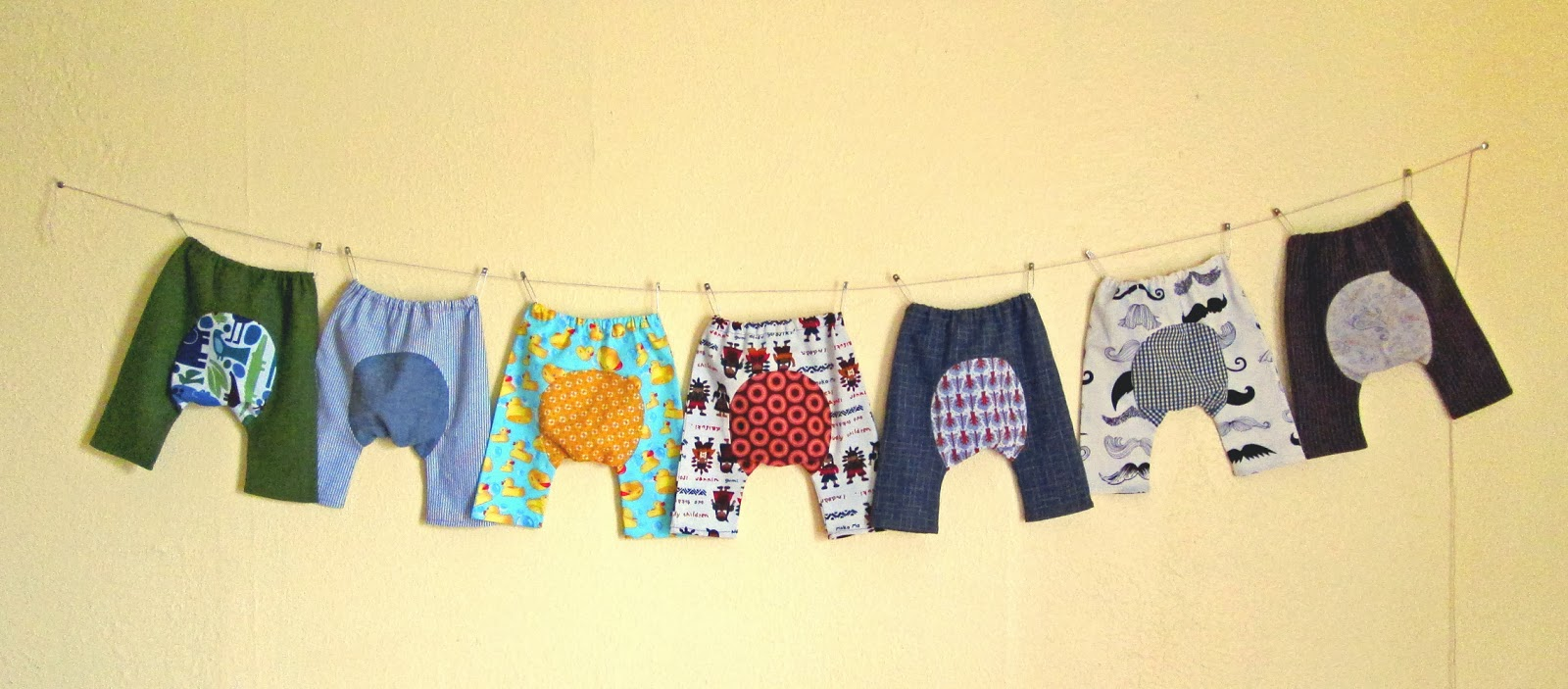refabulous Connie Crawley, sewist, designer, artist, eco friendly baby pants