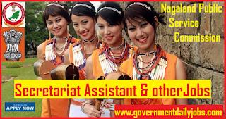NPSC Recruitment 2018 for 62 Secretariat Assistant, Excise Inspector Jobs