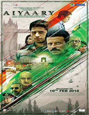 Aiyaary 2018  Full Movie Pre-DVDRip 720P Online HD Download