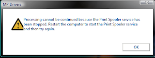 Print Spooler Service Is Not Running