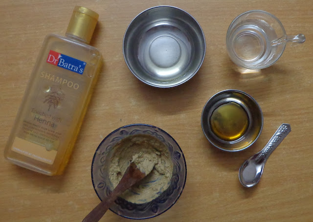 DIY scalp detoxifying clay shampoo for oily scalp and dry frizz prone hair : Clay has the amazing absorption property which removes scalp impurities without drying out the hair. Different brands are coming up with shampoos infused with clay these days. So let's see how to make this scalp detoxifying clay shampoo at home. It is absolutely cheap and easy to make.