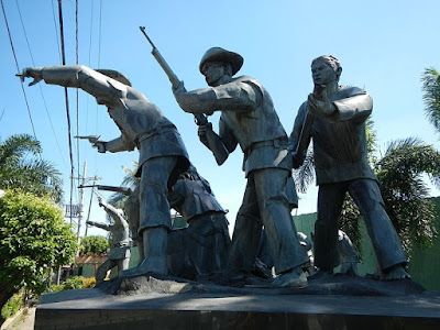 The Monument of the Battle of Binakayan