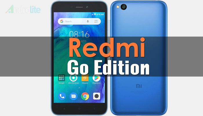 Harga Xiaomi Redmi Go dan Spesifikasi