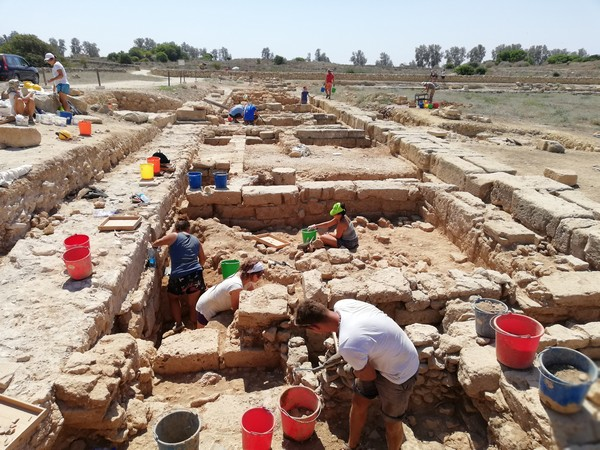 2018 excavations of the Pafos Agora Project completed