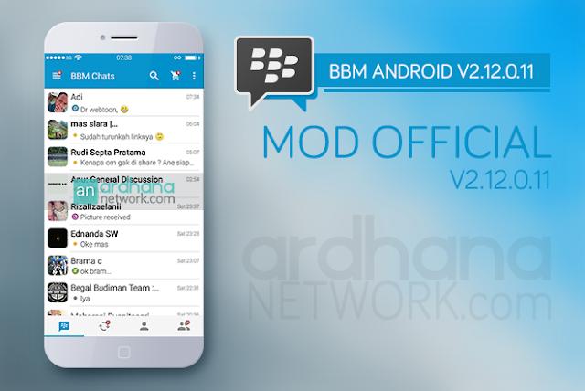 BBM MOD Official V2.12.0.11