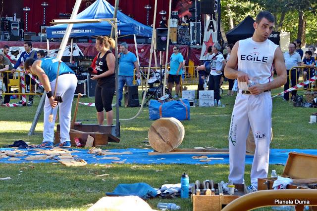 Exhibición deportes vascos