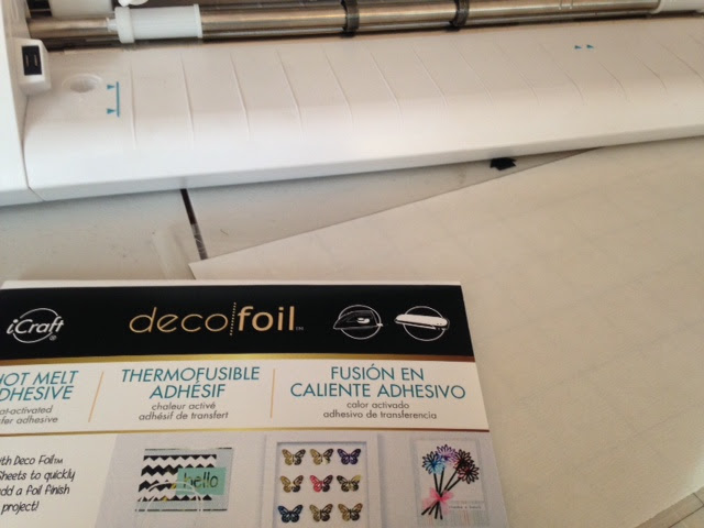Deco Foil Hot Melt Adhesive review Silhouette CAMEO tutorial